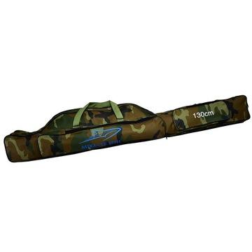 Tyčové kryt 2 Komory 130 cm 2 bočné vrecko