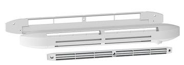 Vstup vzduchu do okna, hygroskopický 42,5 m³ / h BIELY