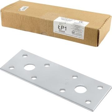 Konektor Carpentry Flat LP1 100x35x2,5mm 50 ks