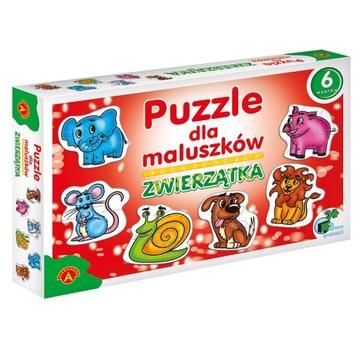 Puzzle pre Maluszków zviera Alexander 2+