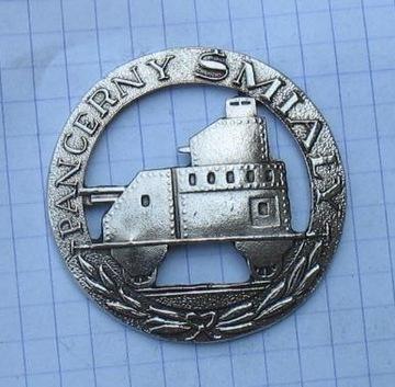 Odznak tučný obrnený vlak