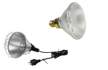 Vykurovacie svetlo montáž Radiátor + žiarovka zdarma