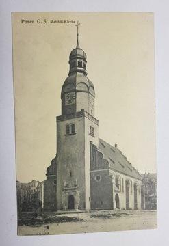 Poznań Market Wildecki Cirkev 1915