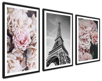 Zarámované plagáty, moderné obrazy SÉRIA 100x43cm