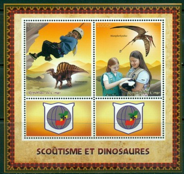 Scouting Scouting Skauci a dinosaury ** # CON1579