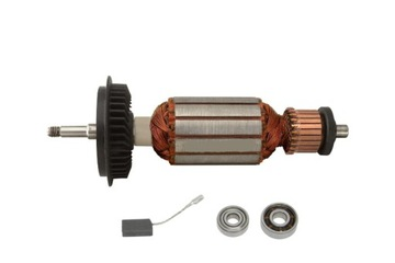 Rotor + kefy + ložiská originálne Bosch GWS 850CE