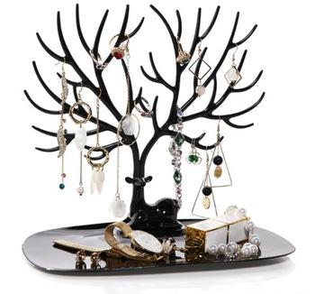 Šperky stojan deer jeleň organizátor strom