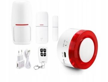 Bezdrôtový výstražný systém WiFi detektorov + siréna