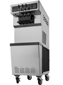 Automatický zmrzlinový stroj 2 + Mix Icelro 4500W