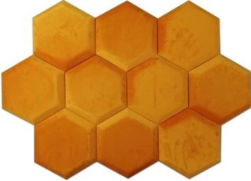 HEXAGON 3D 24H 2212 ČALÚNENÉ stenové panely