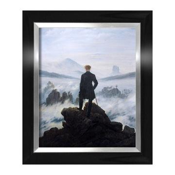 Caspar David Friedrich Wanderer nad Mlhavým morom