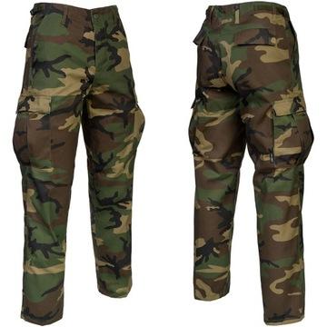 Vojenské nohavice BDU RANGER US MORO WOODLAND - XL