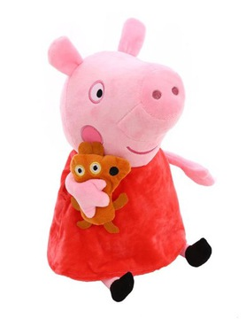 PEPPA PIG MASCOT PLUSH TOY SPIEVA PEPA HRU 40CM