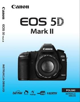 Návod na použitie PL pre Canon 5D Mark II