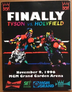 Boxerský program MIKE TYSON VS HOLYFIELD 1996