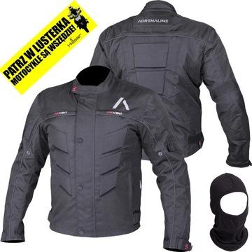 Motocyklová bunda Textilná adrenalín pyramída L