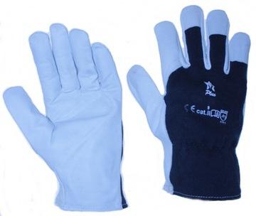 Kožené rukavice Kozia mäkká koža R 10