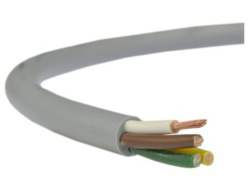 Káblový ovládací kábel Link Liyy 4x0,5 Šedá