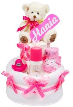 Krstná narodeninová torta s pampers