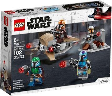 LEGO STAR WARS Mandaloriansky bojový balíček 75267