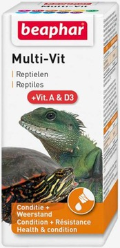 Beaphar Turtle Vitamíny pre korytnačky a plazy 20ml