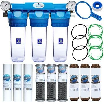 Pre-domáce vodný filter 3 stupňový jeleňov