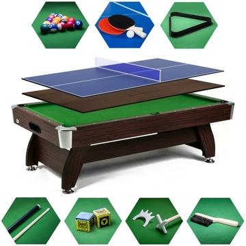 Biliard Table 9ft s Ping Pong Cover Príslušenstvo