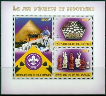 Scouting Scouting hra Chess Benin ** # Ben1537