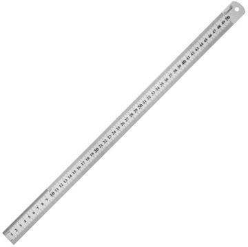 Pravítko nerezové pravítko lineárne 500 mm