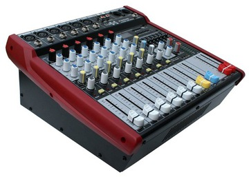 PowerMixer E-Lektron PW-608 6 Kanály, USB 2x250W