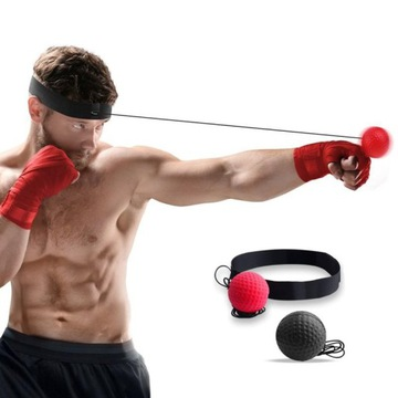 Reflexný loptový box tréning MMA