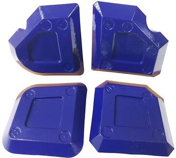 Tytan Cubes pre distribúciu silikónových 4 ks