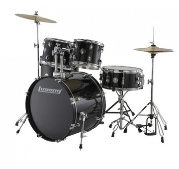 LUDWIG ACCENT FUSE BLACK LC17011