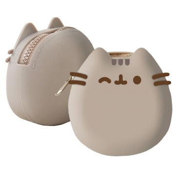 Silikónová peňaženka Cat PUSHEEN 10cm PRAKTICKÁ