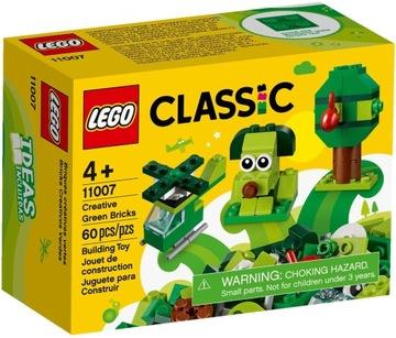 LEGO CLASSIC Zelené tvorivé tehly 11007