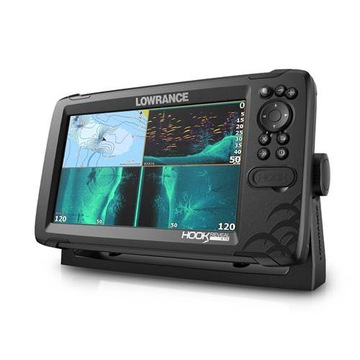 Fishfinder s GPS Lowrance HOOK Reveal 9 Tripleshot