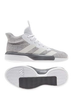 Adidas Pro Next EF1968 Basketbalové topánky šedá