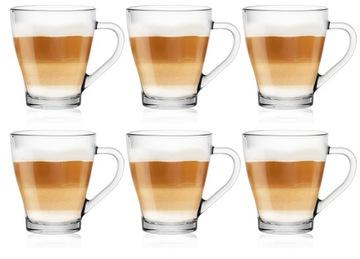 HUGO šálky na čaj latte šálky s rukoväťou 360ml