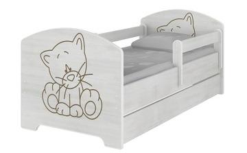 OSKAR BABY BOO 160X80 posteľ posteľ MATRACE + ZÁSUVKA