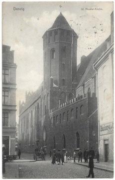 Gdańsk - Danzig - St. Nicolai Kirche