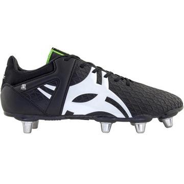 Gilbert Rugby Junior Boot Kuro Black 6s 34