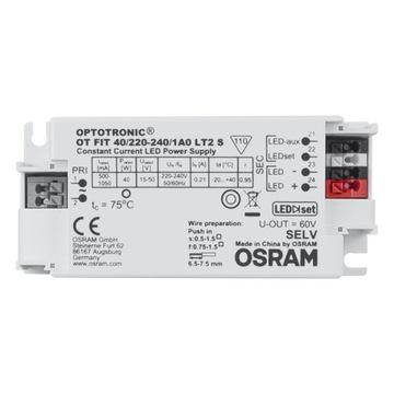 OSRAM OPTOTTRONIC FIT 40/220-240 / 1A LT2 Napájanie