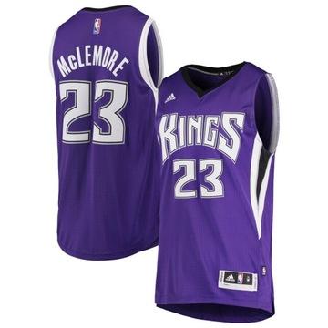 Adidas Swingman NBA Kings McLemore XL T-Shirt