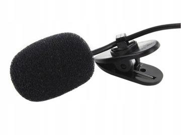 BE8 Mikrofón Viazaný externý Jack 3.5mm klipy