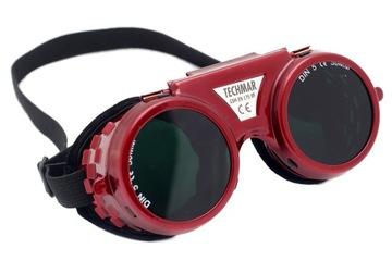 Okuliare zváracie okuliare nastaviteľné poľské
