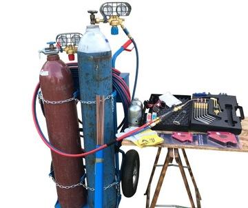 Sada pre rezanie plynového zvárania a rezania acetylénov