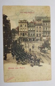 Poznań Old Market Marr Army 1902