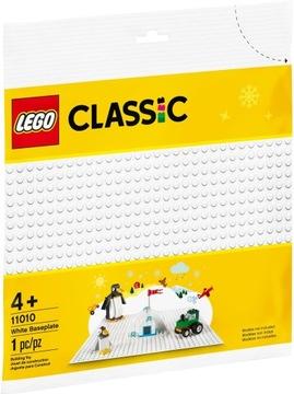 LEGO CLASSIC Biela základová doska 11010