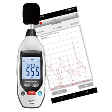Sonometer RECORDER úroveň dB Android PRESNÉ