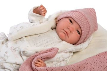 Španielska bábika Llorens Reborn 42 cm, prášok